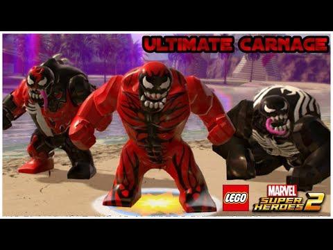 LEGO Marvel Superheroes 2 - BIG CARNAGE (MOD) - YouTube