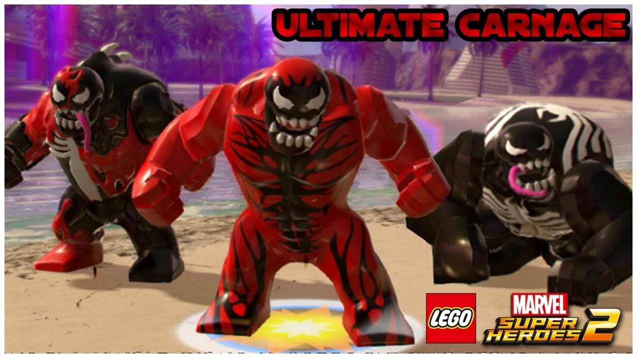 LEGO Marvel Superheroes 2 - BIG CARNAGE (MOD)