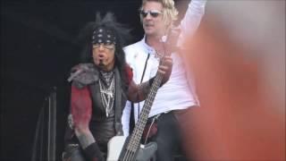 Sixx:A.M. - When We Were Gods - Sweden Rock Festival 160609