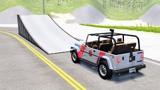 Epic High Speed Jumps #17 – BeamNG Drive