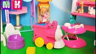 КАТЯ И МАКС ВЕСЕЛАЯ СЕМЕЙКА ЗАБЫЛИ ДИАНУ В САДИКЕ!!! #Мультики с куклами #Барби