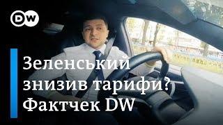 Чи дійсно Зеленський знизив тарифи на газ на 12%? Фактчек DW | DW Ukrainian