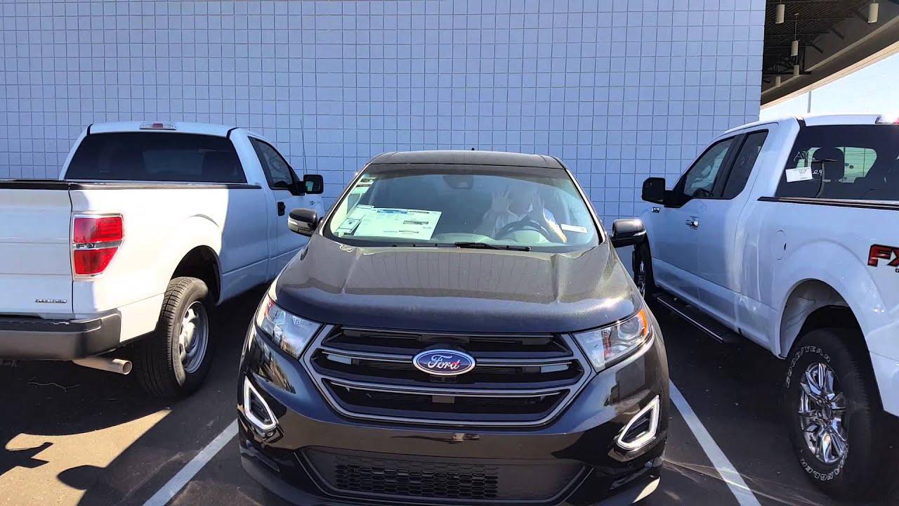 Ford Jones Buckeye >> 2015 Ford Edge active park assist. - YouTube
