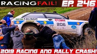 Racing and Rally Crash Compilation 2019 Week 246