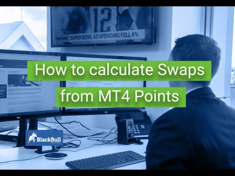 How To Calculate Swap Rates In Mt4 Blackbull Markets Youtube