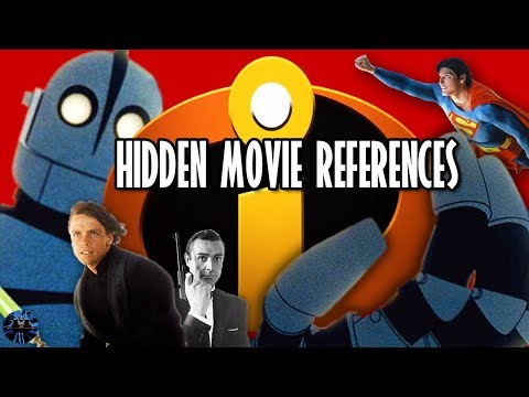 Yesterworld: Movie References in The Incredibles You Never Noticed - Pixar Easter Eggs