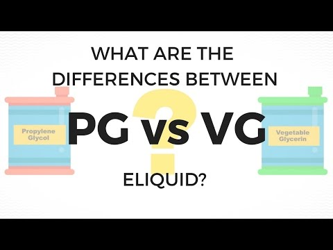 PG vs VG Eliquid and how it affects Vape performance