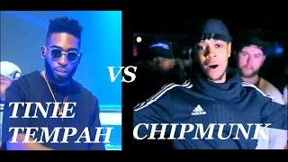 Chipmunk vs Tinie Tempah Beef All The Sends !!!