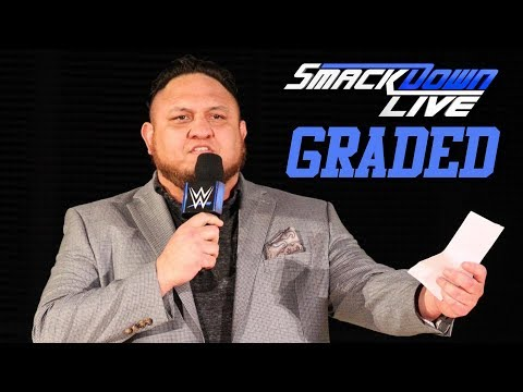 WWE SmackDown Live: GRADED (14 August) | SummerSlam 2018 Go-Home Show