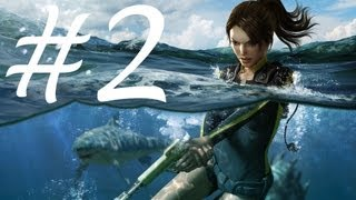 Tomb Raider Underworld Walkthrough Part 2 - Mediterranean Sea 1/4 [PC/Full HD]