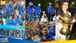 Mumbai Indian's Victory Parade In Open Bus As Fans Celebrate IPL 2019 Win Against MS Dhoni's CSK