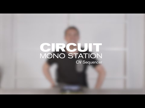 Novation // Circuit Mono Station V1.2 - CV Sequencer