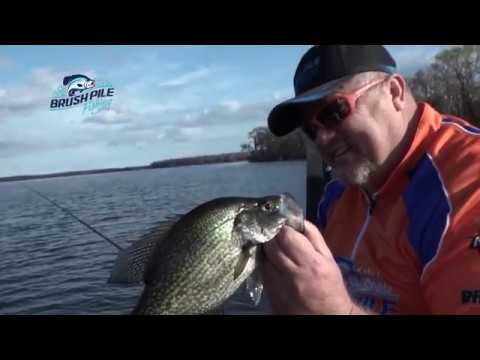 Long Lining For Crappie On Lake Crescent In Florida