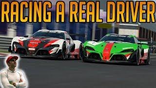 Gran Turismo Sport: Racing Against A Real Racing Driver
