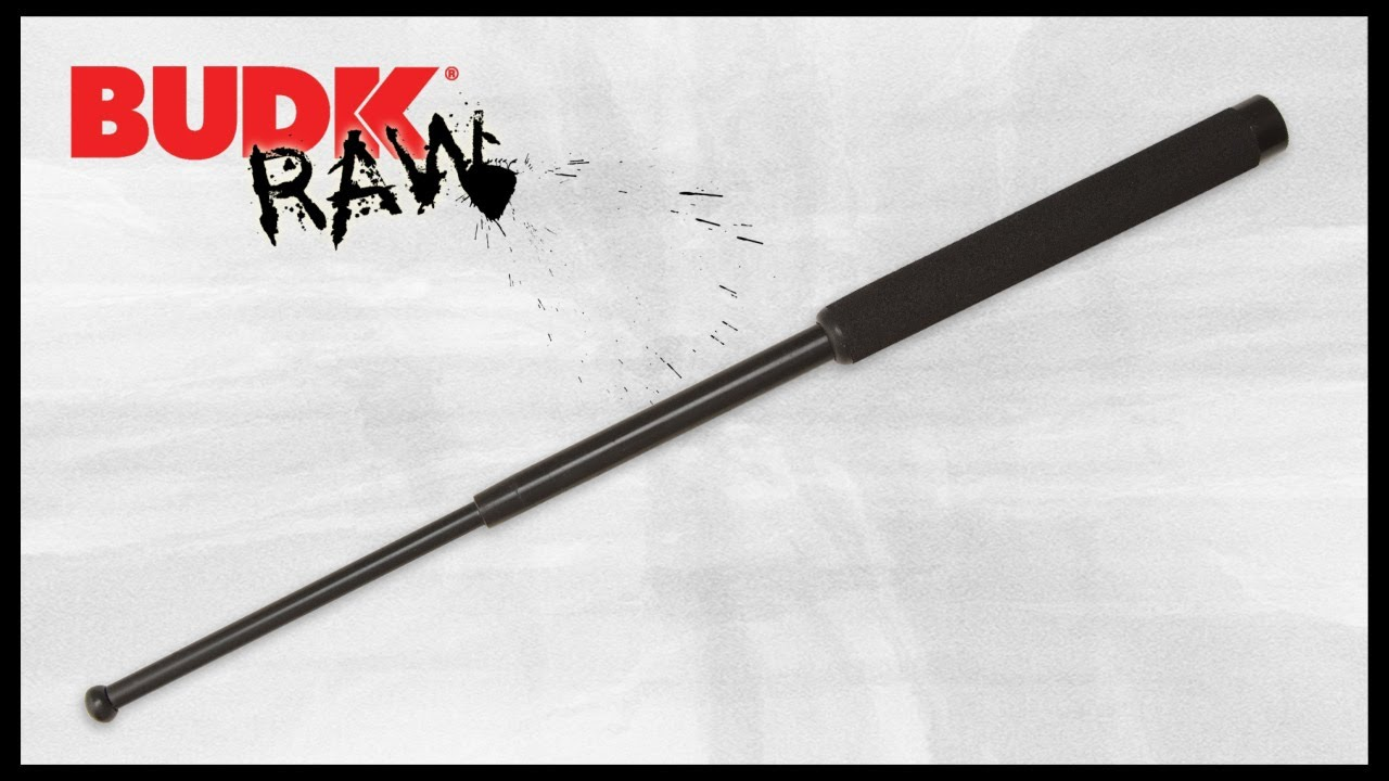 Expandable Steel Baton 16 Inch Overall 24 99 Youtube