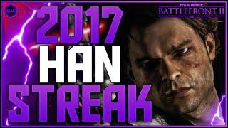 Battlefront 2 Han Solo 2,017 Killstreak/Gameplay (Galactic Assault) Highest Killstreak Ever!