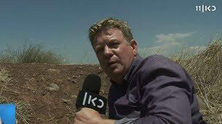 תיעוד: מורדים בסוריה יורים לעבר צוות כאן חדשות
