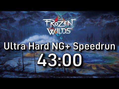 Horizon Zero Dawn Speedrun: The Frozen Wilds NG+ Ultra Hard In 43:00 [Former WR]