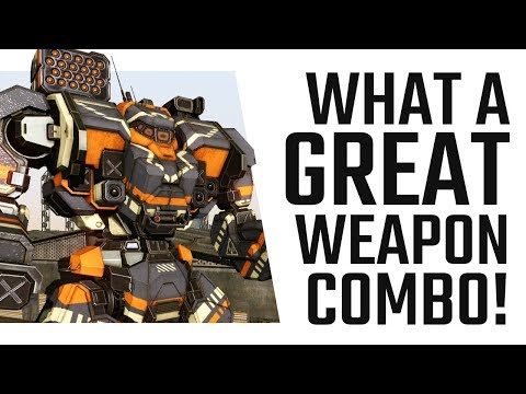 What a great weapon combo! Large Laser + MRM Warhammer - Mechwarrior Online The Daily DOse #354