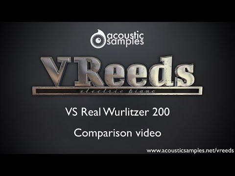 VReeds Electric piano VS real Wurlitzer 200