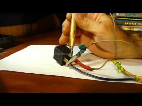 Проверка реле поворотов ВАЗ 2108-2115-калина 3х контактное, в гараже! check relay electronic