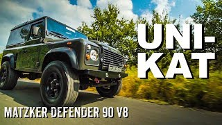 Land Rover Defender 90 V8 by Matzker I 4x4 Passion #84