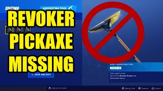 "Fortnite Season 9 FORTBYTE GLITCH! Did not receive ""Revoker"" Pickaxe at 55 Fortbytes!"