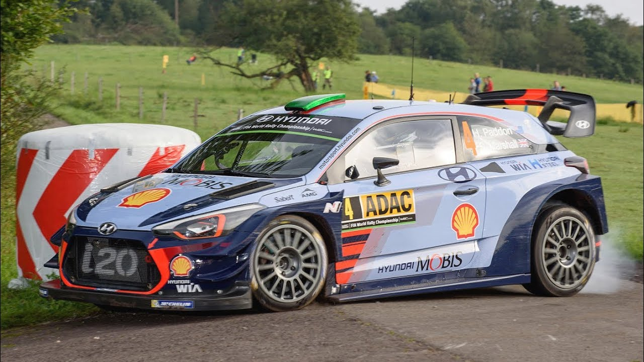 Hyundai I20 Wrc >> Hyundai I20 Coupe Wrc Sound Neuville Sordo Paddon In Action At Rallye Deutschland