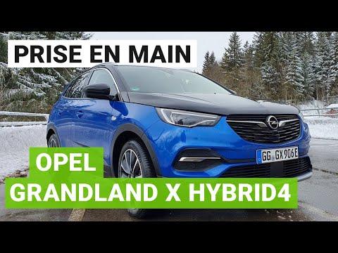 Essai Opel Grandland X Hybrid4 : un SUV rechargeable éclectique