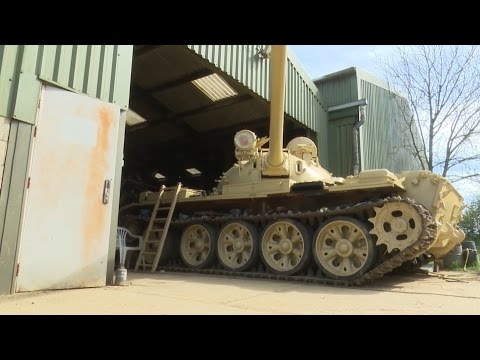 £2m Worth Of Gold Found Hidden In Former Iraqi Tank | Forces TV