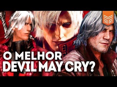 QUAL É O MELHOR DEVIL MAY CRY? thumbnail