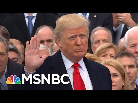 Donald Trump's First Year To Be Marked By Return Of Nationwide Protests | Rachel Maddow | MSNBC