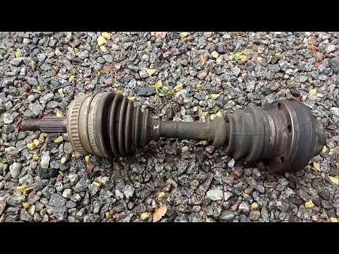 Mercedes vito w638 Как поменять полуось ОМ611 CDI 2.2L