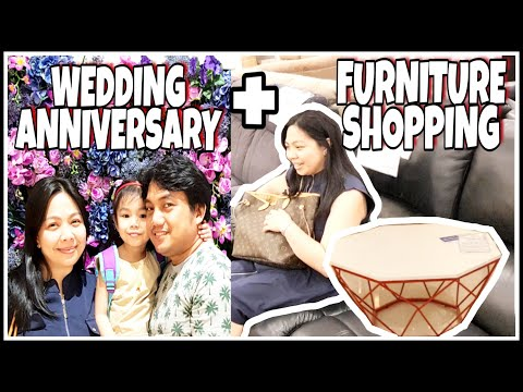 ANNIVERSARY DATE + FURNITURE SHOPPING | KATE MEDINA