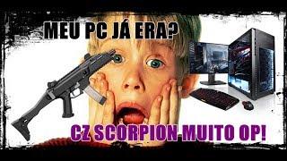 NOVA CZ SCORPION OP D+ E PC COM PROBLEMA!