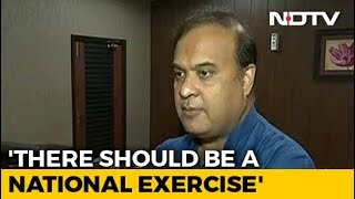 """""""India Is Not A Dharamshala"""": BJP's Himanta Sarma On Assam Citizens' List"""
