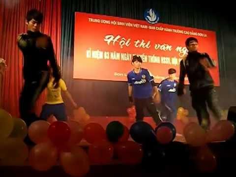 hiphop GDTC K48 Truong Cao Dang Son La