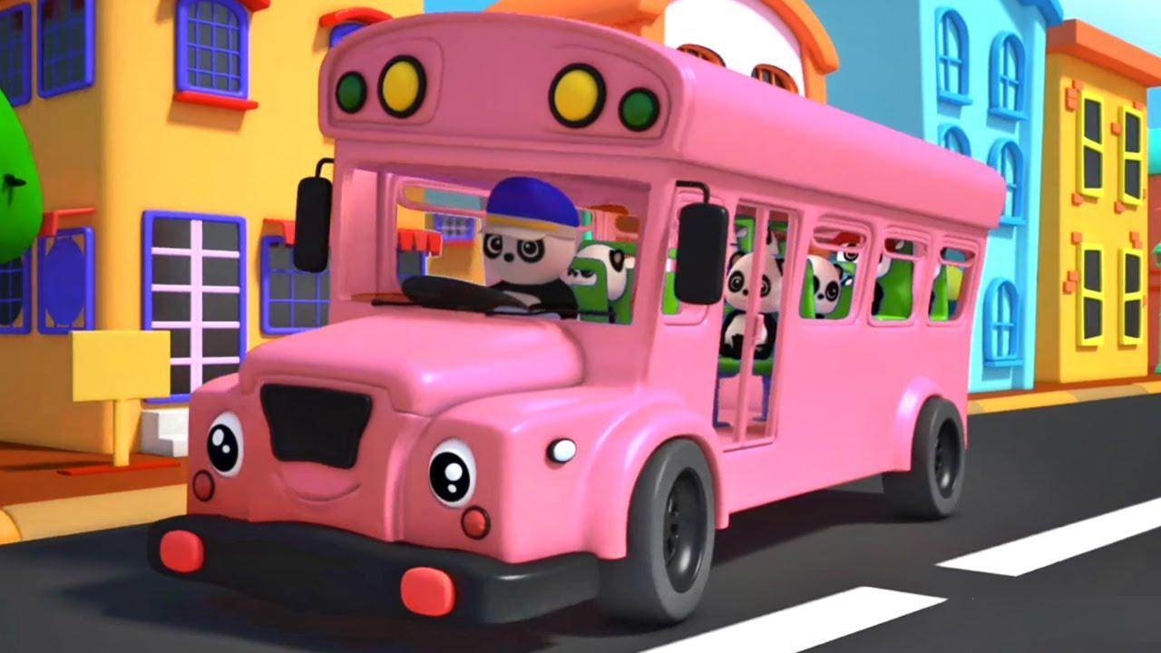 Bánh xe trên xe buýt | Nhạc thiếu nhi | Vần điệu trẻ | Baby Bao Panda Vietnam | Giáo dục