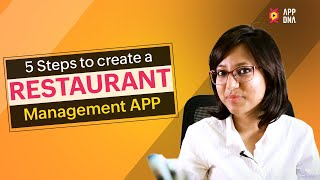 Restaurant Management App | Creating a web database application to manage your Restaurant