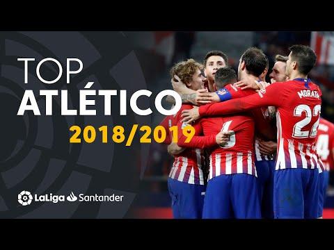 TOP Goles Atlético De Madrid LaLiga Santander 2018/2019