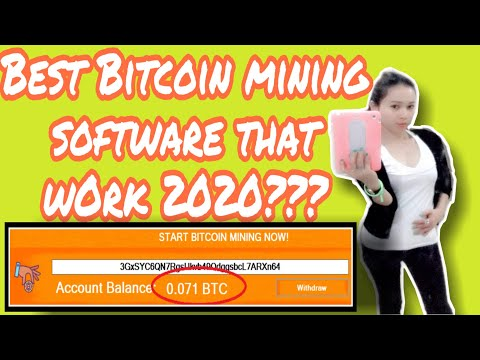 Best Bitcoin Mining Software That Work In 2020??? Review