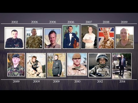 British troops in Afghanistan 2001-14: 13 lives remembered