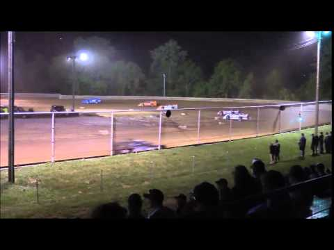 AMRA Late Model Feature from Ohio Valley Speedway 5/30/15.