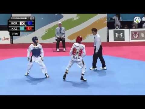 Asian Junior Taekwondo Championships. Final Male -45