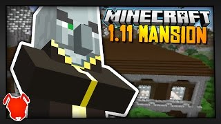 DEFEAT the MINECRAFT WOODLAND MANSION in 1.11?!