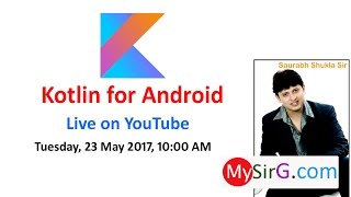 Kotlin for Android | LIVE