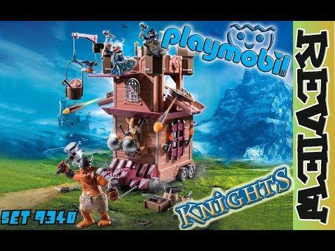 Playmobil Die mobile Zwergen Festung SET 9340