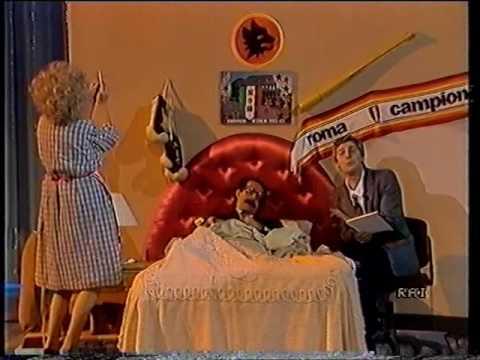 Il Trio celebra la nascita di Uno Mattina 1986