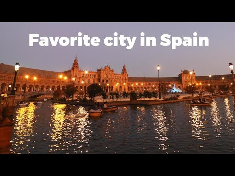 Our favorite city in Spain - Seville - Travel Vlog Day #120