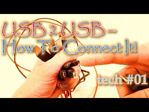 How To Connect Two USB-Devices? - DIY Connector - tech #01 - how to from YouTube · Duration:  18 minutes 43 seconds